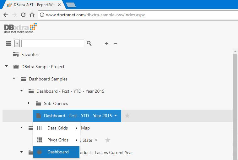 Report Web Service Interface